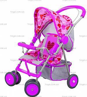 Детская кукольная коляска, 4 колеса, B9812