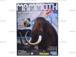 Детская лаборатория «Раскопки. Скелет мамонта», 03236, цена