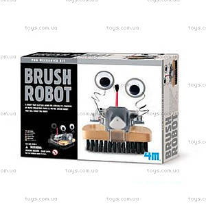 Детская лаборатория «Робот щетка», 00-03282