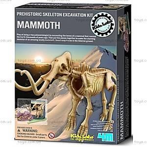 Детская лаборатория «Раскопки. Скелет мамонта», 03236, купить