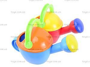 Детская лейка, разноцветная, , детские игрушки