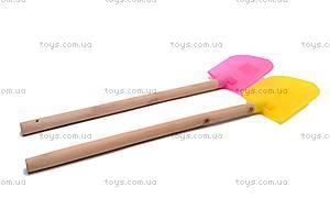 Детская лопатка, с деревянной ручкой, HC302C