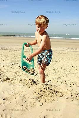 Детская лопатка SСOPPI с ситом для песка и снега, 170204, фото