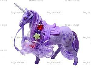 Детская лошадь-единорог, 379LNBEAD, фото