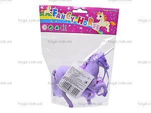 Детская лошадь-единорог, 379LNBEAD, игрушки