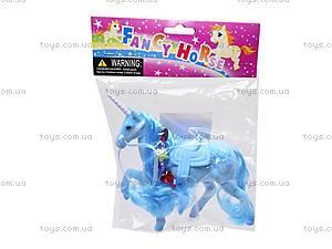 Детская лошадь-единорог, 379LNBEAD