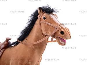 Детская лошадь велюровая, 317, игрушки