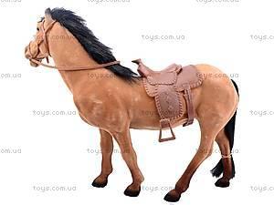 Детская лошадь велюровая, 317, детские игрушки