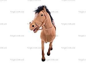 Детская лошадь велюровая, 317, toys.com.ua