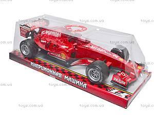Детская машина «Формула 1», F992, игрушки