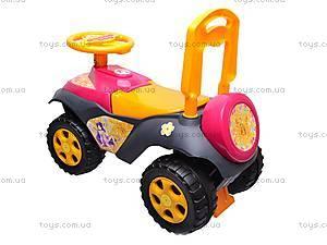 Детская машина-каталка, 013117R,U11, детские игрушки