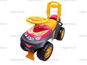 Детская машина-каталка, 013117R,U11, магазин игрушек