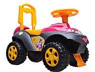 Детская машина-каталка, 013117R,U11, интернет магазин22 игрушки Украина