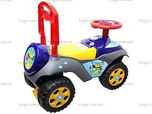 Детская машина-каталка «Автошка», 013117R,U10, игрушки
