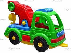 Детская машина «Подъемный кран», , купить