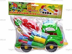 Детская машина «Подъемный кран», , цена