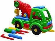 Детская машина «Подъемный кран», , фото