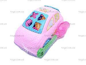 Детская машина, с песочным набором, 362, купить