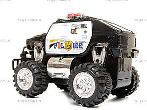Детская машинка «Джип», на радиоуправлении, 396-024, фото