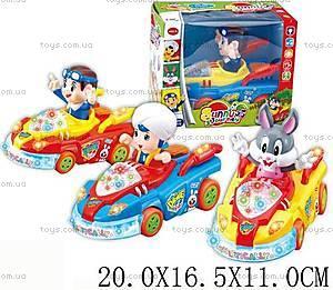 Детская машинка с героями, 8817ABC