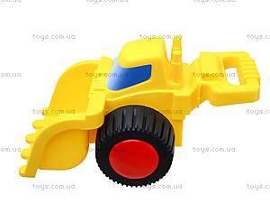 Детская машина «Бульдозер с ручкой», 70400, игрушки