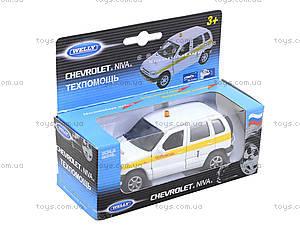 Детская машина Chevrolet Niva «Техпомощь», 42379TA-W, фото