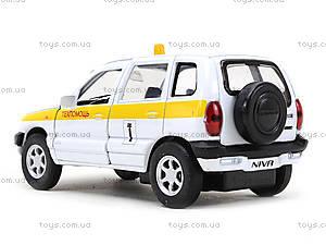 Детская машина Chevrolet Niva «Техпомощь», 42379TA-W, игрушки
