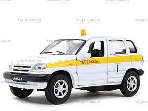 Детская машина Chevrolet Niva «Техпомощь», 42379TA-W, детские игрушки