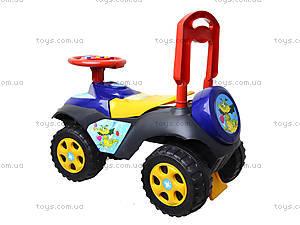 Детская машина-каталка «Автошка», 013117R,U10, магазин игрушек