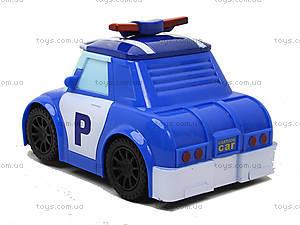 Детская машина «Робокар Поли» с музыкальными эффектами, 767-376, купить