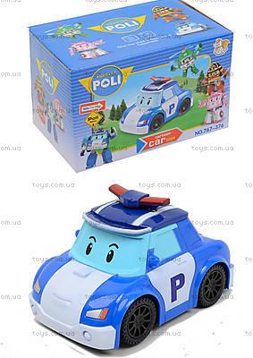 Детская машина «Робокар Поли» с музыкальными эффектами, 767-376