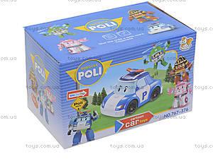 Детская машина «Робокар Поли» с музыкальными эффектами, 767-376, отзывы