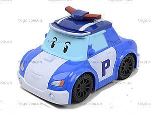 Детская машина «Робокар Поли» с музыкальными эффектами, 767-376, игрушки