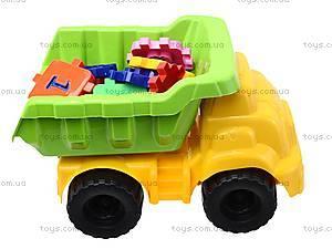 Детская машина «Смайл» с конструктором, 013585, купить