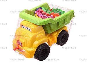 Детская машина «Смайл» с конструктором, 013585, фото
