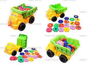 Детская машина «Смайл» с конструктором, 013585