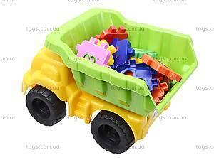 Детская машина «Смайл» с конструктором, 013585, игрушки