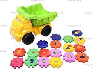 Детская машина «Смайл» с конструктором, 013585, детские игрушки