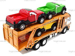 Детская машина «Трейлер», 558A-D5558A-, фото