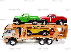 Детская машина «Трейлер», 558A-D5558A-, цена
