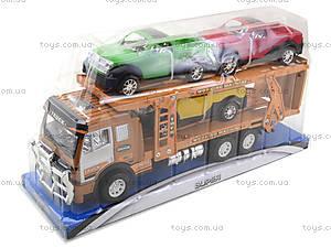 Детская машина «Трейлер», 558A-D5558A-, игрушки