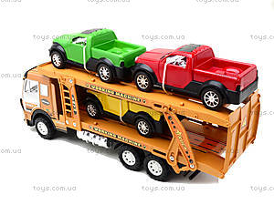 Детская машина «Трейлер», 558A-D5558A-, детские игрушки
