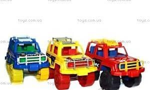 Детская машинка Джип цветной, МГ 114