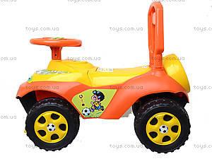 Детская машинка-каталка «Автошка», 013117R,U09, игрушка
