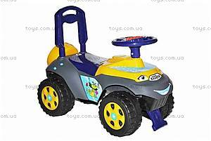 Детская машинка-каталка «Автошка», сине-желтая, 013117U04