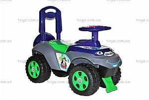 Детская машинка-каталка для мальчиков «Автошка», 013117U06