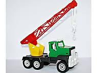 Детская машинка Кран цветной, МГ 129, отзывы