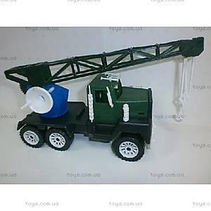 Детская машинка Кран военный, МГ 133