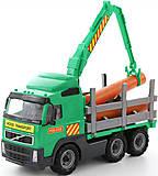 Детская машинка - лесовоз, 8756, купить