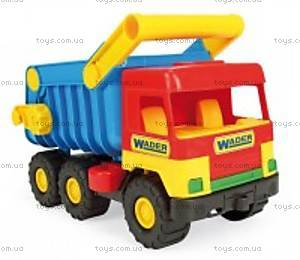 Детская машинка самосвал с набором для песочницы, 39159